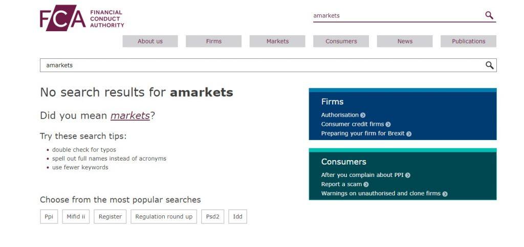 Регистрация брокера Amarkets