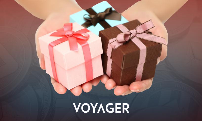Voyager выплатила своим пользователям бонусы за интерес к криптовалюте