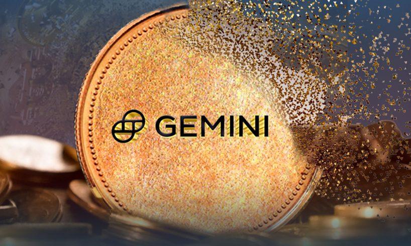 Криптобиржа Gemini уничтожила пятую часть своей валюты GUSD