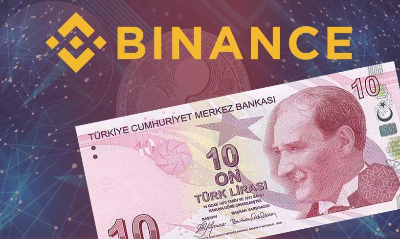 Binance выведет на торговую площадку три новых валютных пары с турецкой лирой