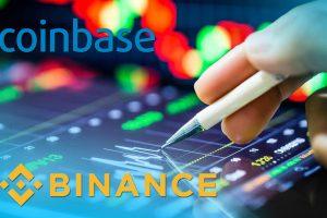 Coinbase провела листинг первого IEO криптобиржи Binance
