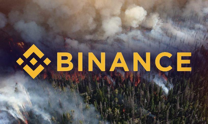 Binance пожертвовала более миллиона долларов на тушение лесных пожаров в Австралии