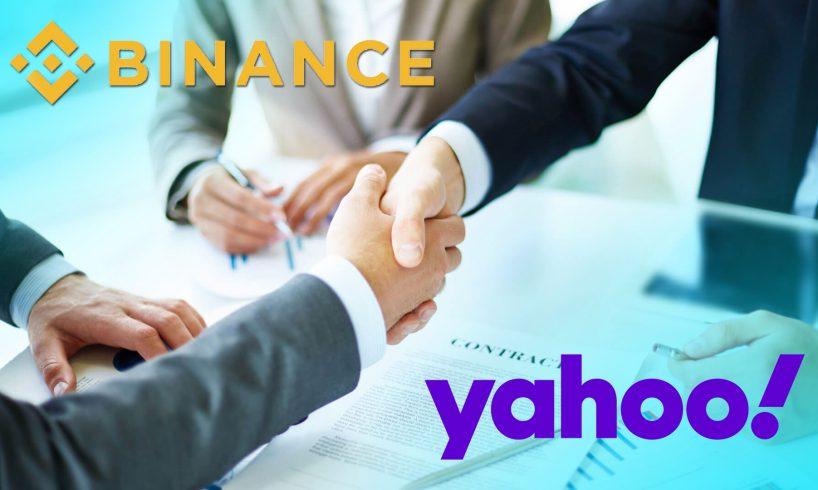 Binance объявила о партнерстве с японским подразделением Yahoo