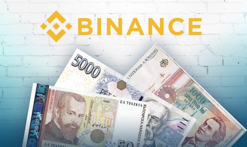 Binance провел листинг новых фиатных валют