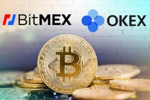 BitMEX и OKEx разделили более половины открытого интереса к фьючерсам на BTC